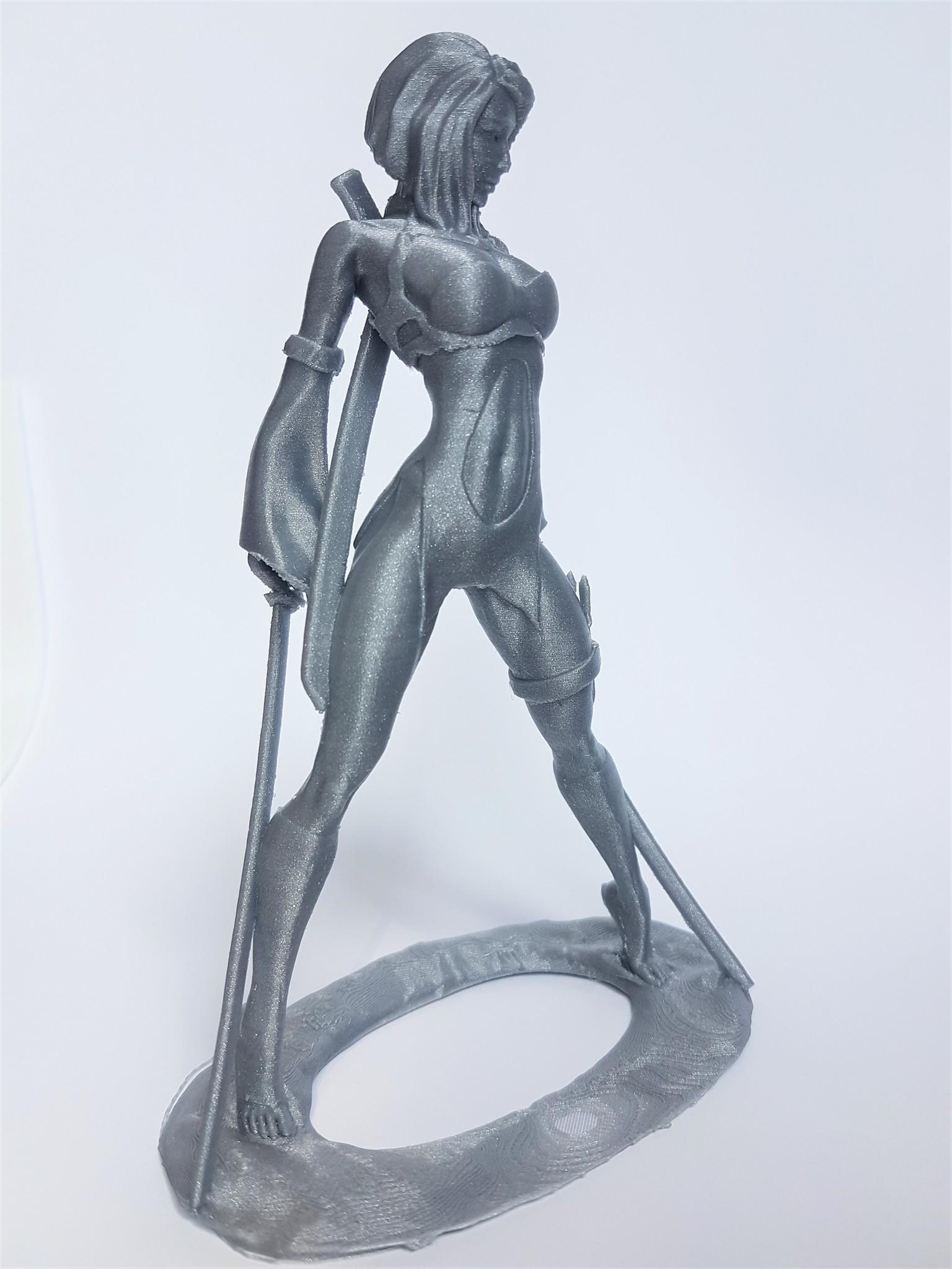 Akiko PLA Rapunzel Silver Plasticz