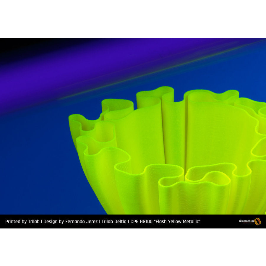CPE HG100 Gloss, Flash Yellow Metallic, verbeterd PETG-2