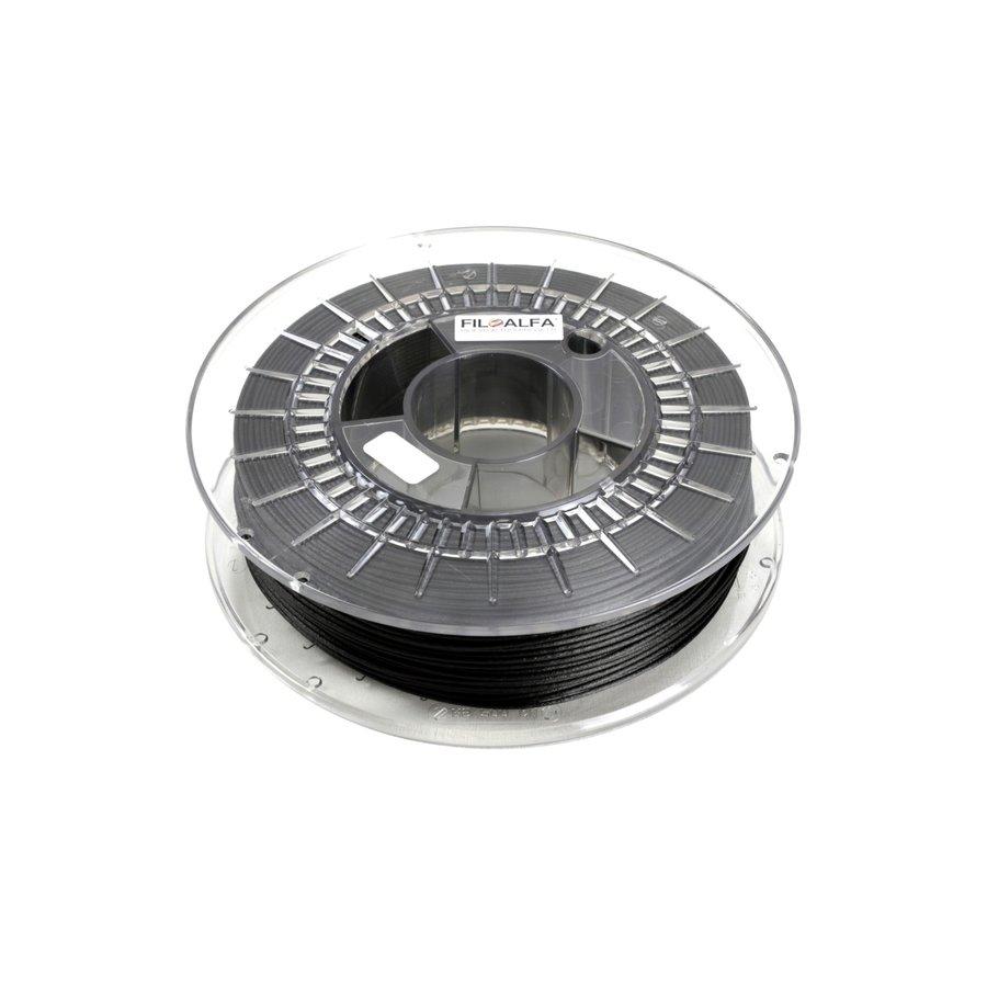 ALFAOMNIA, carbon gevuld industriëel polymeer, 1000 gram (1 KG) filament-1