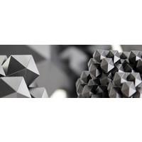 thumb-GRAFYLON is PLA filled with graphene, Pantone 432, super finish-5
