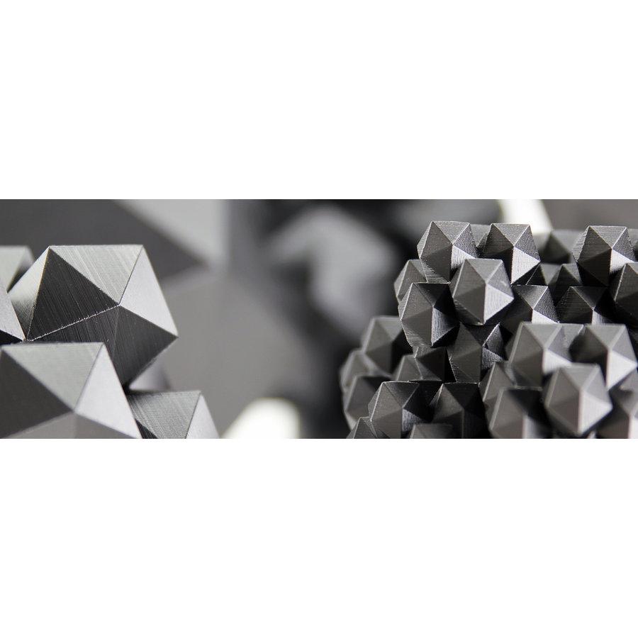GRAFYLON is PLA filled with graphene, Pantone 432, super finish-5