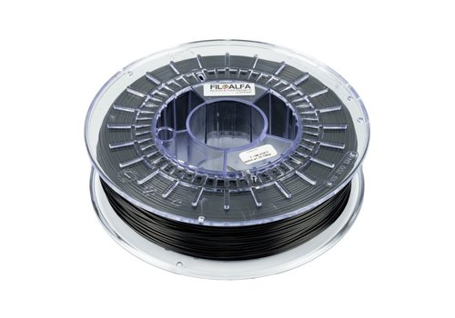 FILOALFA ALFAPLUS zwart / black, PLA+ sterk als ABS, 700 gram filament