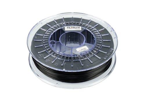 FILOALFA ALFAPLUS zwart / black, PLA+ strong as ABS, 700 grams filament