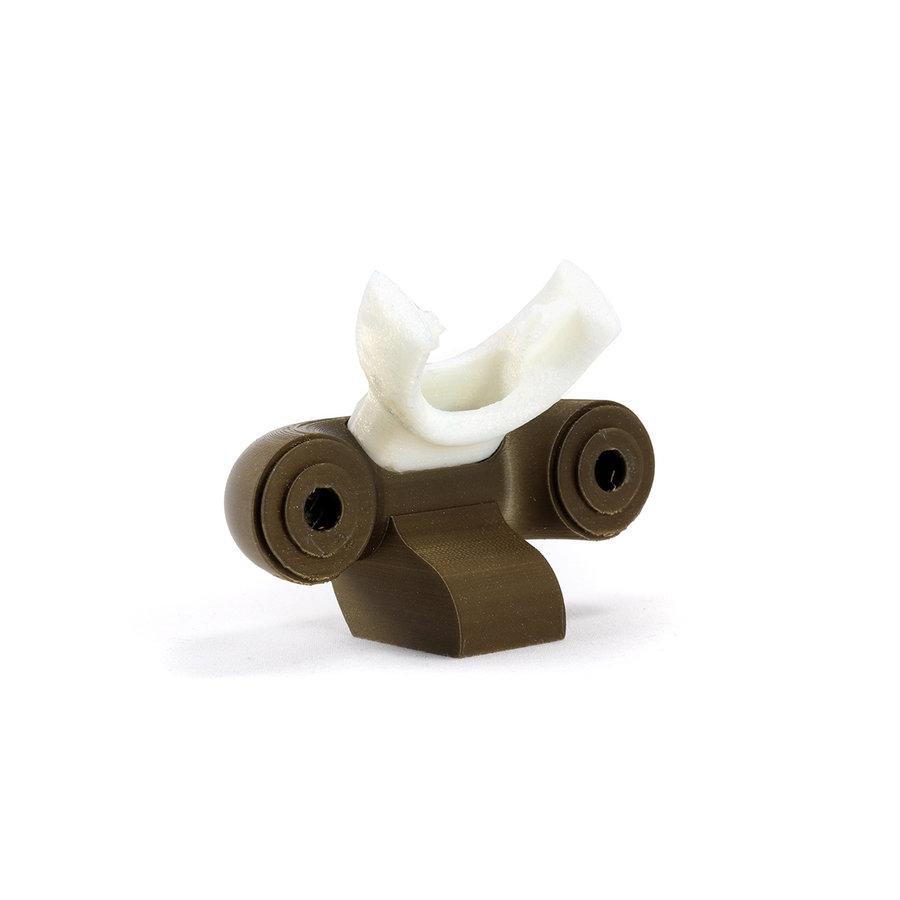 BioFlex flexibel 3D filament - Medical Certification, naturel, 250 gram-3