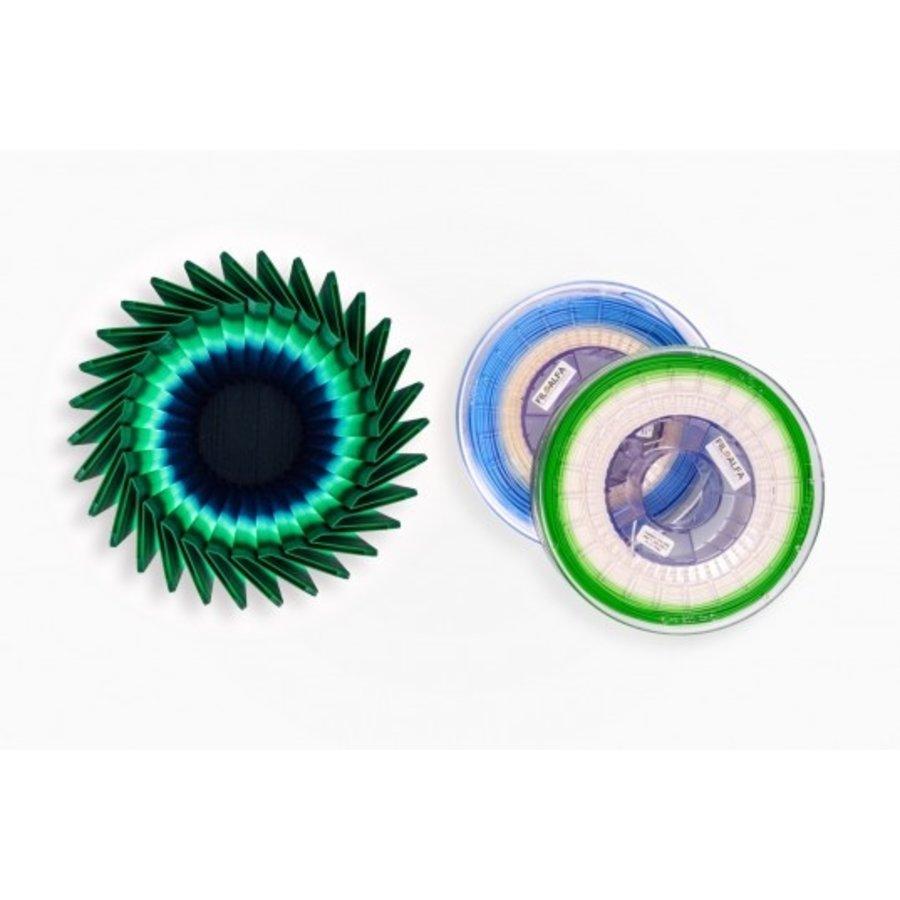 PLA - random colour changing / transition spool, 700 gramx (0.7 KG)-1