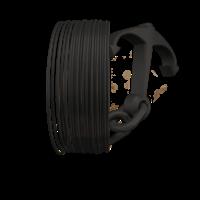 thumb-Longchain Nylon PA12, RAL 9005 - Black Hole - professioneel filament, 500 gram (0.5 KG)-1