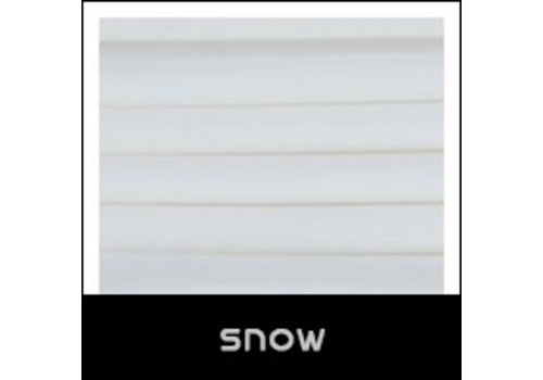 ColorFabb Cheetah Snow, white flexible filament shA 95A hardness, 500 grams (0.5 KG)