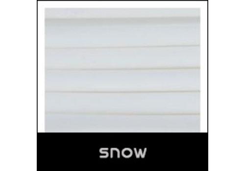 NinjaTek Cheetah Snow, wit flexibel filament met shA 95A hardheid, 500 gram (0,5 KG)