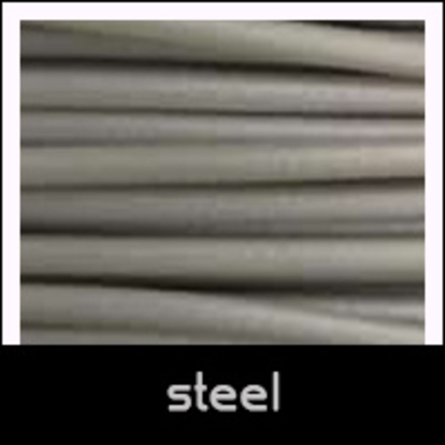 Cheetah Steel, grey flexible filament, shA 95A hardness, 500 grams (0.5 KG)-1