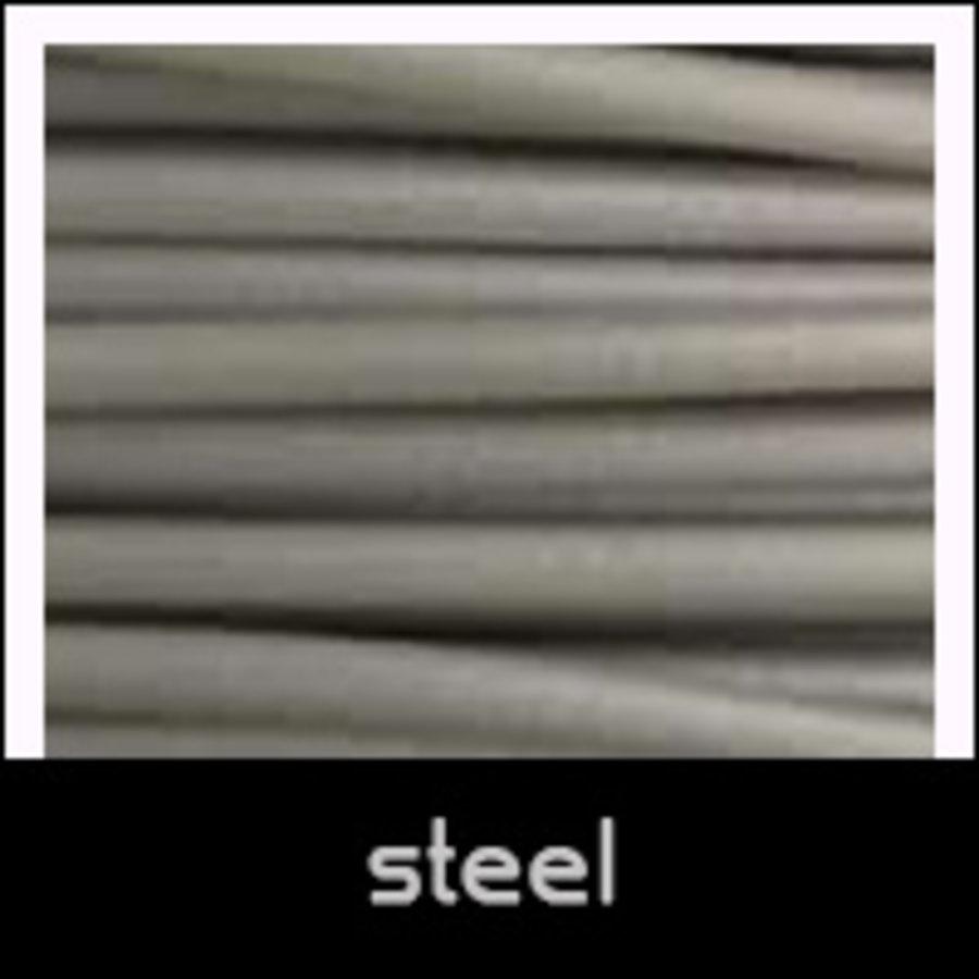 Cheetah Steel, grijs flexibel filament, shA 95A hardheid, 500 gram (0,5 KG)-1