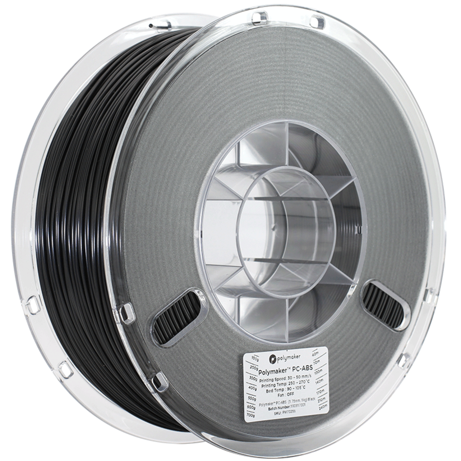 PC-ABS, industrieel 3D printer filament, 1 KG-4