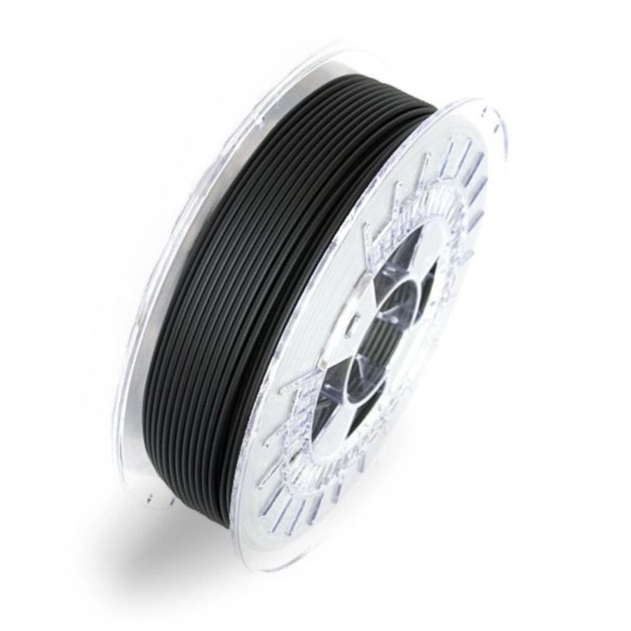 """Mat Zwart / Matte Black 3D printer filament - """"Black Hole Sun"""", 700 grams-1"""