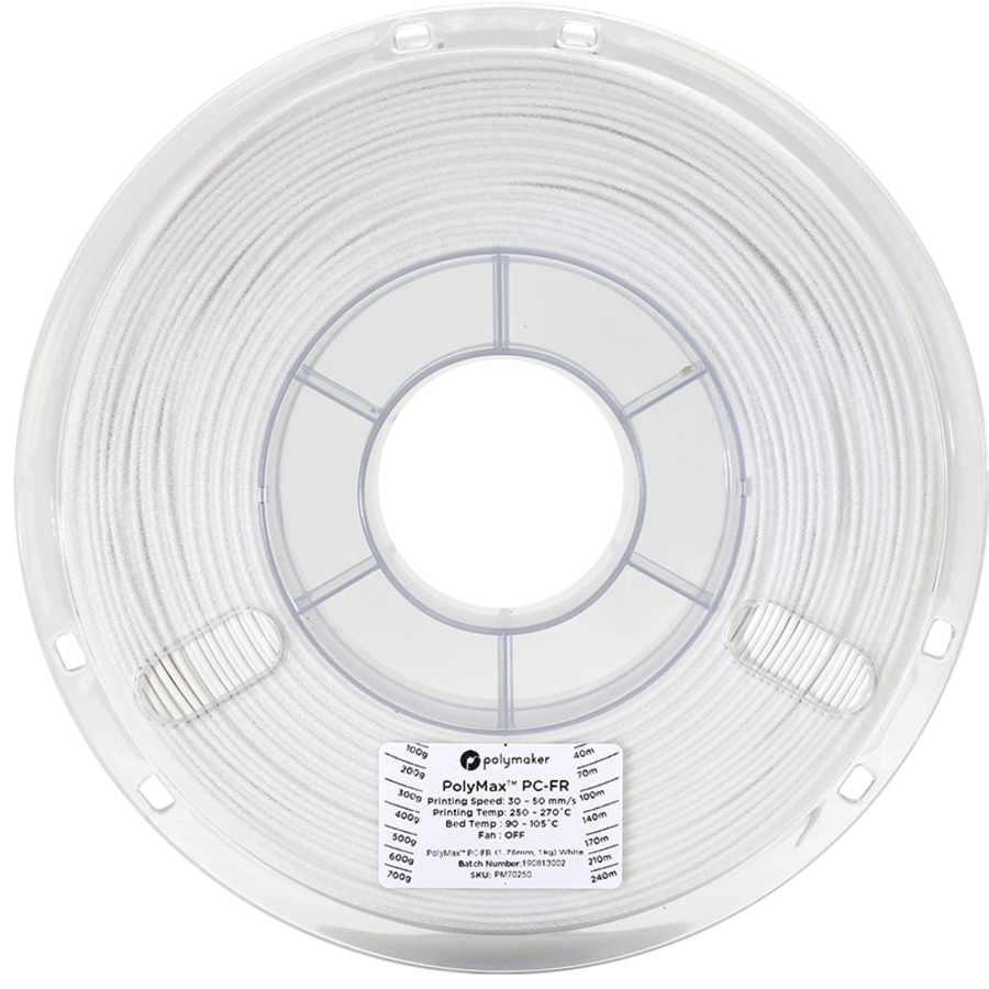 PolyMax ™ PC-FR, flame retardant polycarbonate filament, 1 KG-5
