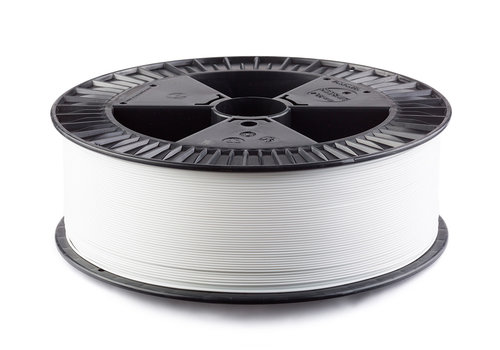 Fillamentum 2,5 KG PLA Traffic White / Wit, RAL 9016