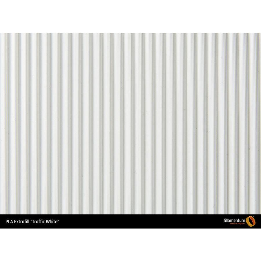 2,5 KG PLA Traffic White / Wit, RAL 9016-3