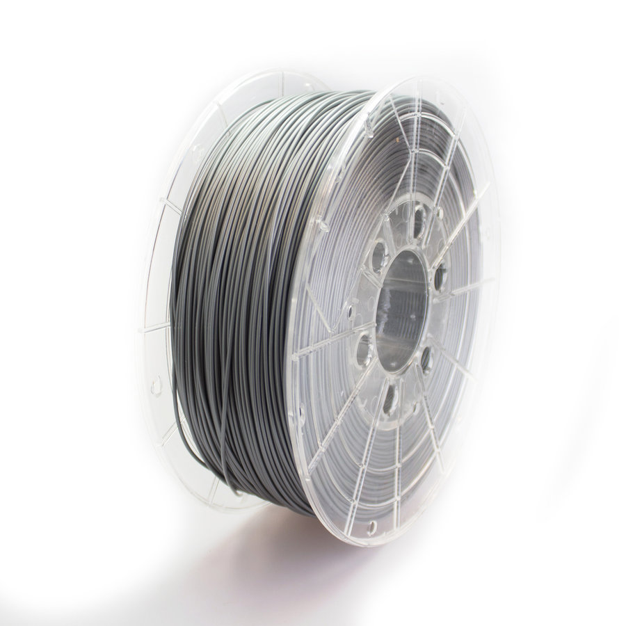PETG filament, 1 KG, silver RAL 9006-1