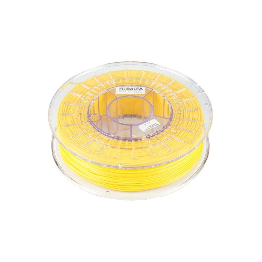 AlfaPRO Yellow Pantone 121, UV-, moisture resistant and hard PLA-1