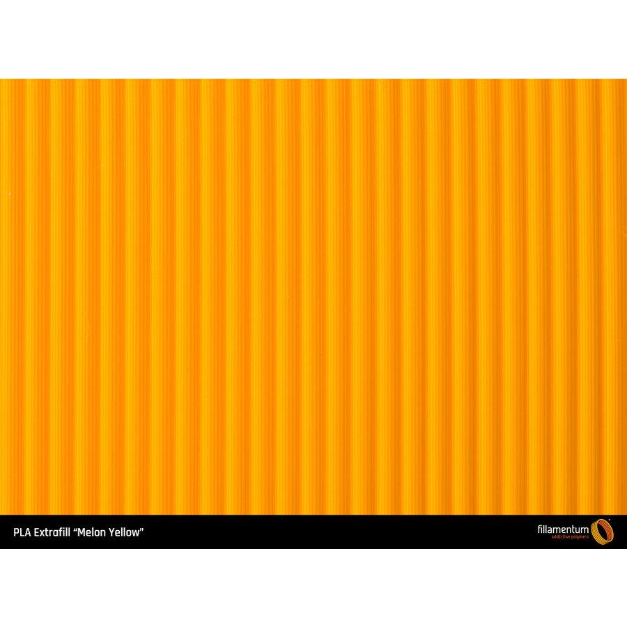 PLA Melon Yellow/geel, RAL 1028/Pantone 137, 750 gram-3
