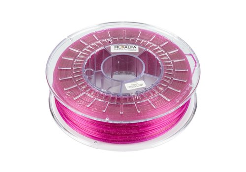 FILOALFA PLA Violet Glitter, Pantone 248, 700 gram (0.7 KG)