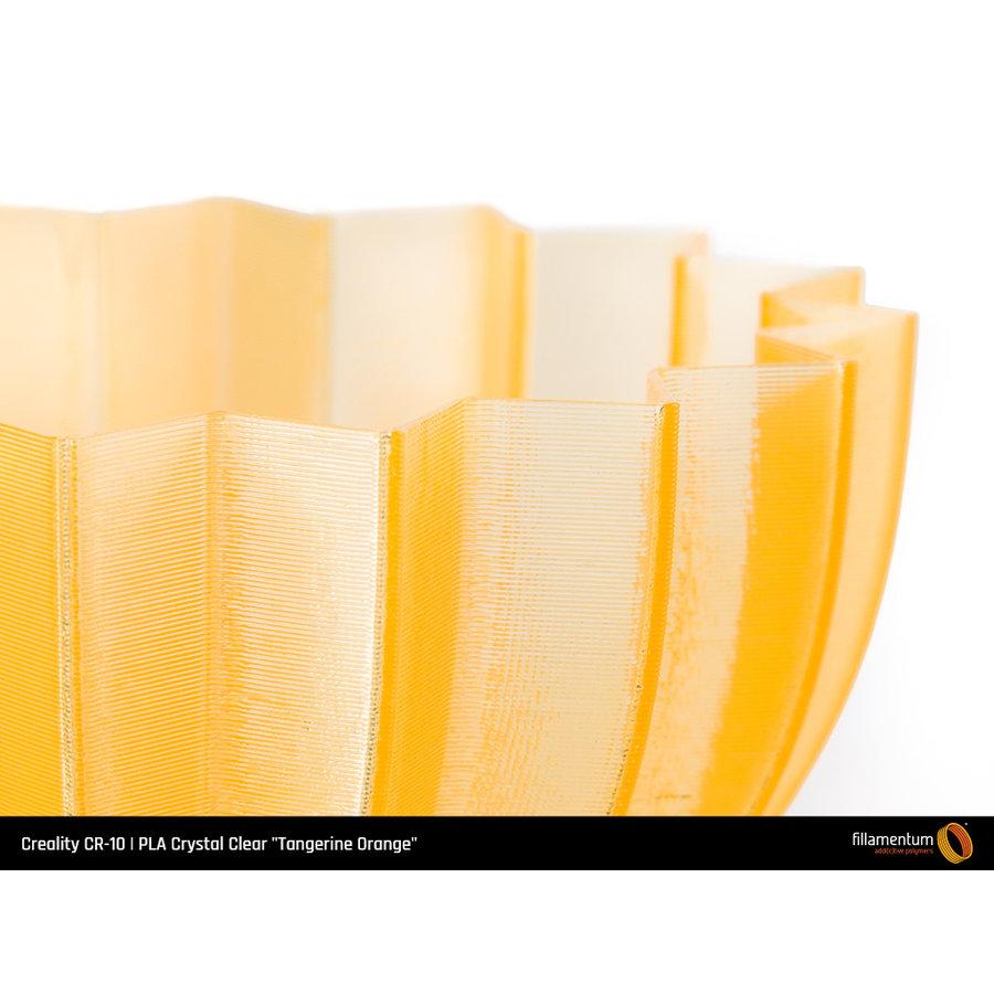 """PLA Crystal Clear-""""Tangerine Orange"""", 1.75 / 2.85 mm, 750 gram (0.75 KG)-3"""
