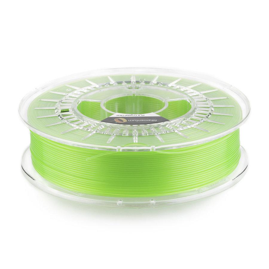 """PLA Crystal Clear-""""Kiwi Green"""", 1.75 / 2.85 mm, 750 gram (0.75 KG)-1"""