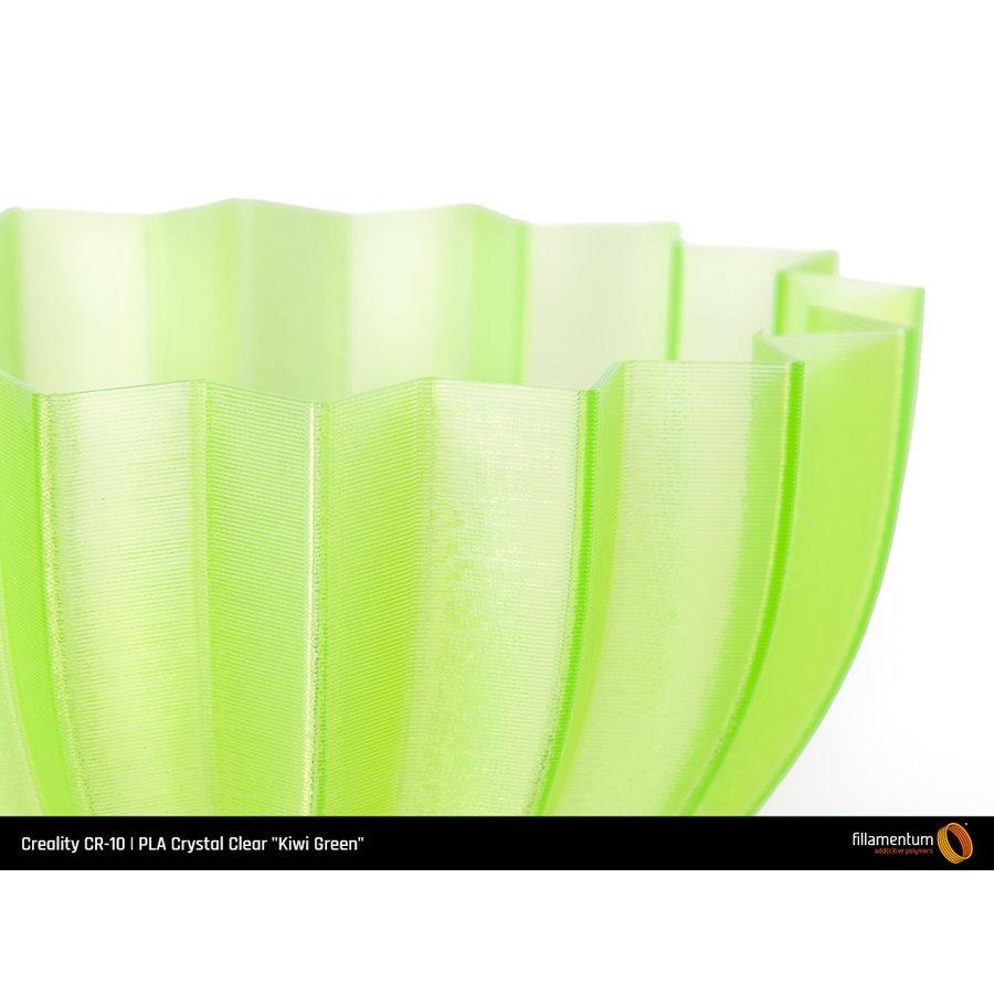 """PLA Crystal Clear-""""Kiwi Green"""", 1.75 / 2.85 mm, 750 gram (0.75 KG)-3"""