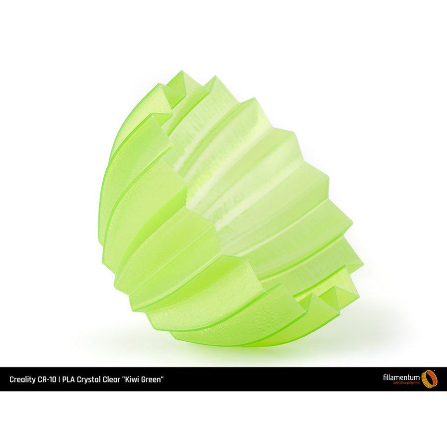 """PLA Crystal Clear-""""Kiwi Green"""", 1.75 / 2.85 mm, 750 gram (0.75 KG)-4"""