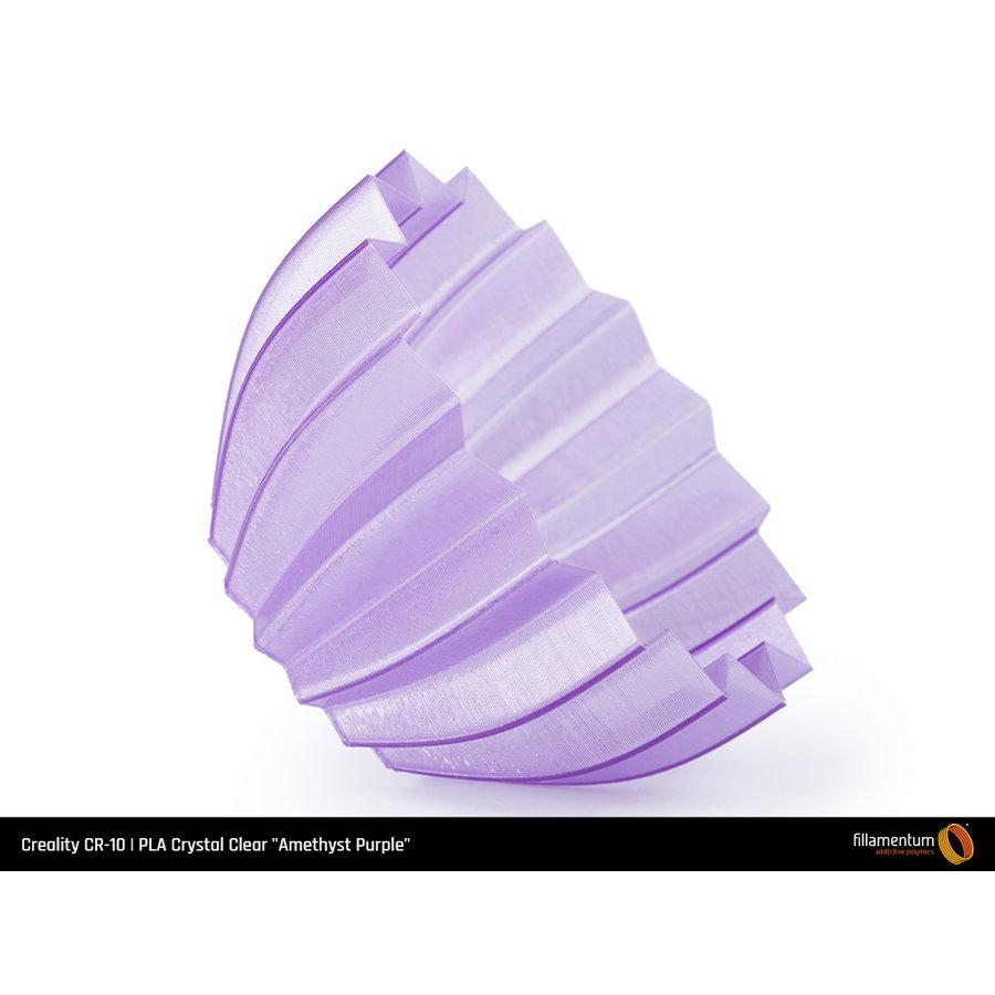 """PLA Crystal Clear-""""Amethyst Purple"""", 1.75 / 2.85 mm, 750 gram (0.75 KG)-4"""