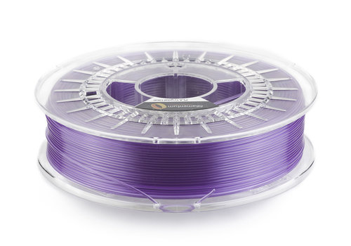 "Fillamentum PLA Crystal Clear-""Amethyst Purple"", 750 gram (0.75 KG)"