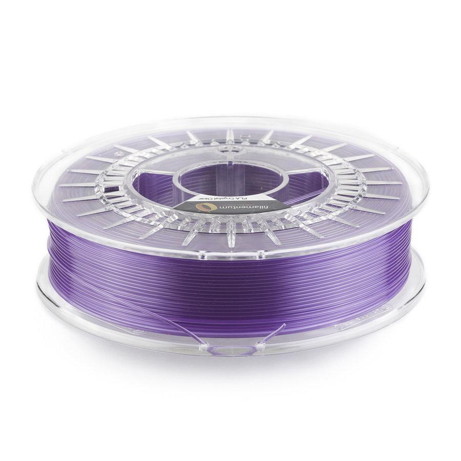 """PLA Crystal Clear-""""Amethyst Purple"""", 1.75 / 2.85 mm, 750 gram (0.75 KG)-1"""