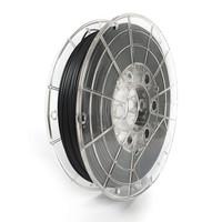 thumb-PLA FLEX semi-flexibel filament, 0.5 KG, Traffic Black/zwart Mat-1