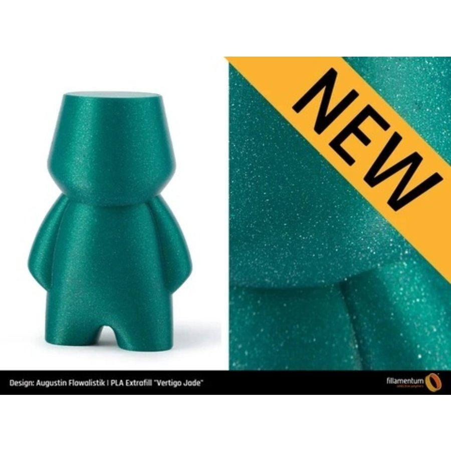PLA Vertigo Jade, premium 3D filament, 750 gram-4