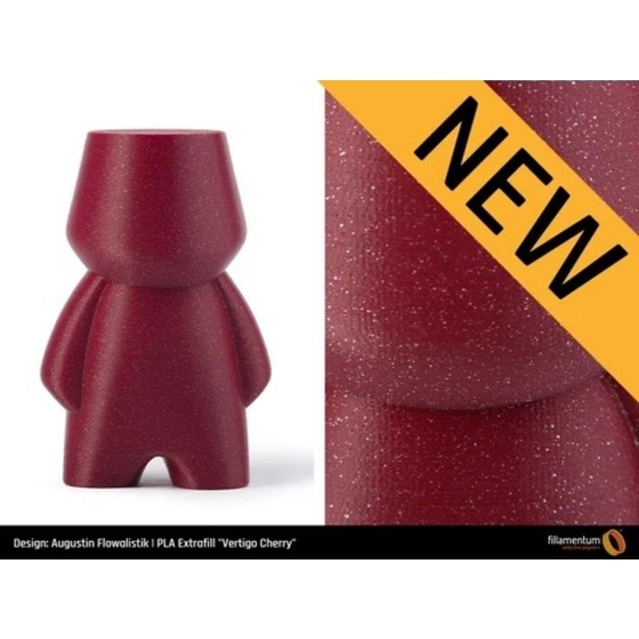 PLA Vertigo Cherry, premium 3D filament, 750 grams-3