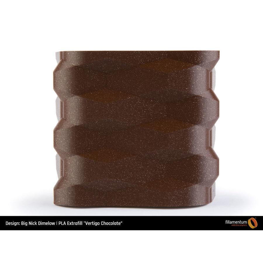 PLA Vertigo Chocolate, premium 3D filament, 750 grams-4