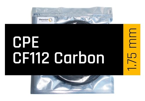 Fillamentum CPE CF112 Carbon SAMPLE, 15 meter - carbon filled co-polyester, 600 grams - Copy