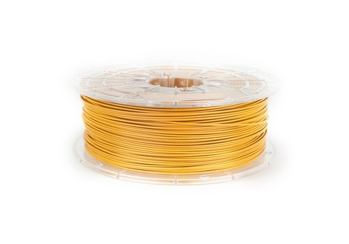 Plasticz PLA MATT Caramel Yellow filament,  1 KG / 1.000 grams