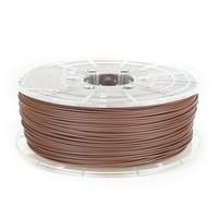 thumb-PLA MAT Chocolade Bruin/ Chocolate Brown filament,  1 KG / 1.000 gram-1