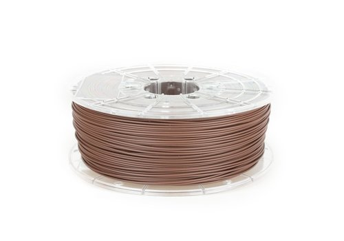 Plasticz PLA MAT Chocolade Bruin/ Chocolate Brown filament,  1 KG / 1.000 gram