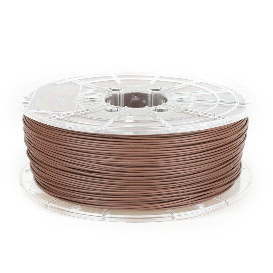 PLA MAT Chocolate Brown filament,  1 KG / 1.000 gram-1