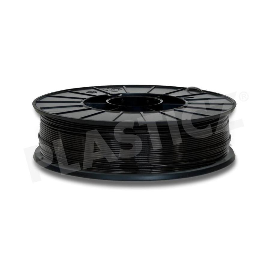 PLA Traffic Black / Zwart: RAL 9017, 1.75 / 2.85 mm PLA, 1.000 grams (1 KG) PLA filament-1