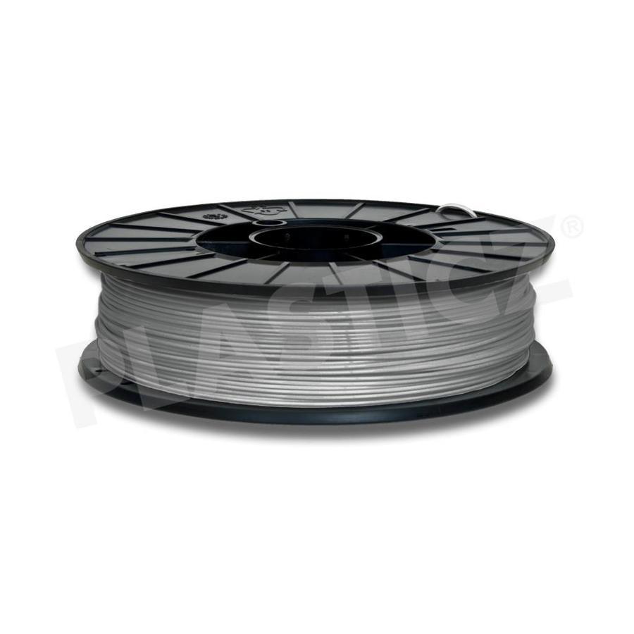 PLA Metallic Grey / Grijs: RAL 7045, 1.75 - 2.85 mm, 1.000 gram (1 kg), Plasticz, filament-1