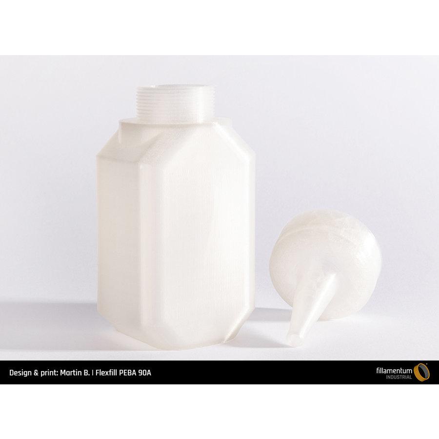 Flexfill PEBA 90A Natural, 500 grams, flexible filament-3