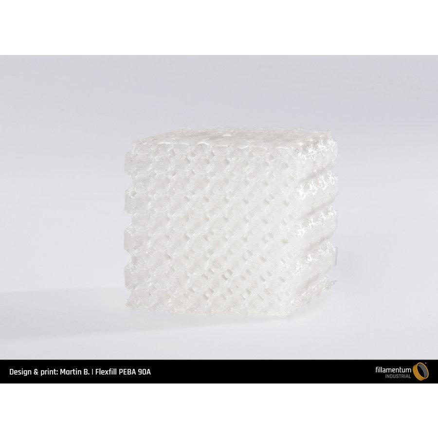 Flexfill PEBA 90A Natural, 500 grams, flexible filament-6