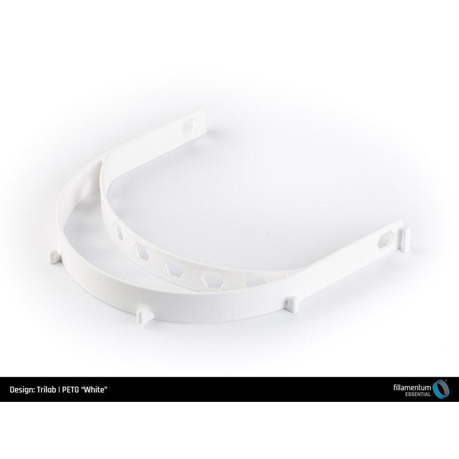 PETG Wit/ White, 1 KG filament-4