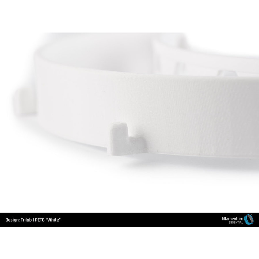 PETG Wit/ White, 1 KG filament-5