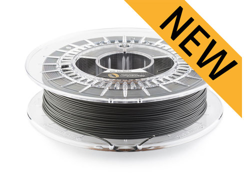 Fillamentum Flexfill TPE 90A - Traffic Black/Zwart - RAL 9017, 500 gram, flexibel filament