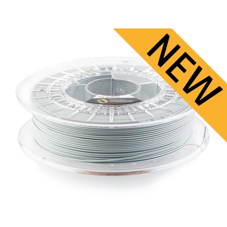 Flexfill TPE 90A - Light Grey/ licht grijs - RAL 7046, 500 grams, flexible filament-1
