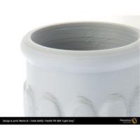 thumb-Flexfill TPE 90A - Light Grey/ licht grijs - RAL 7046, 500 grams, flexible filament-3