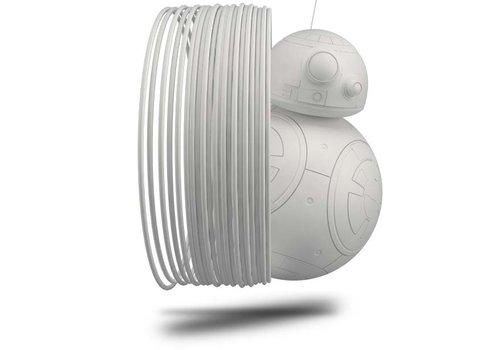 Treed Longchain Nylon PA12, RAL 9003 - WHITE- professional filament, 500 grams (0.5 KG)