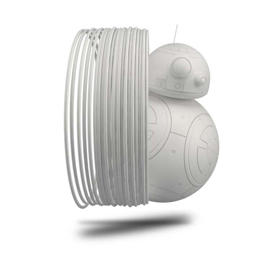 Longchain Nylon PA12, RAL 9003 - WHITE- professional filament, 500 grams (0.5 KG)-1